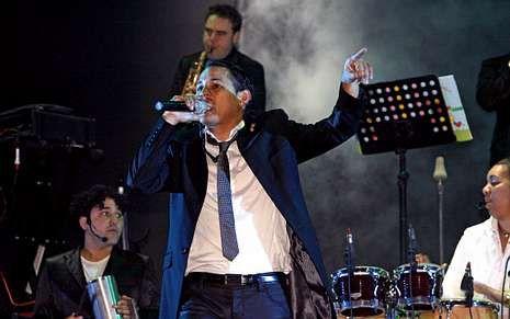 La orquesta Pontevedra es una de las actuaciones habituales en el festival de Xuntos.