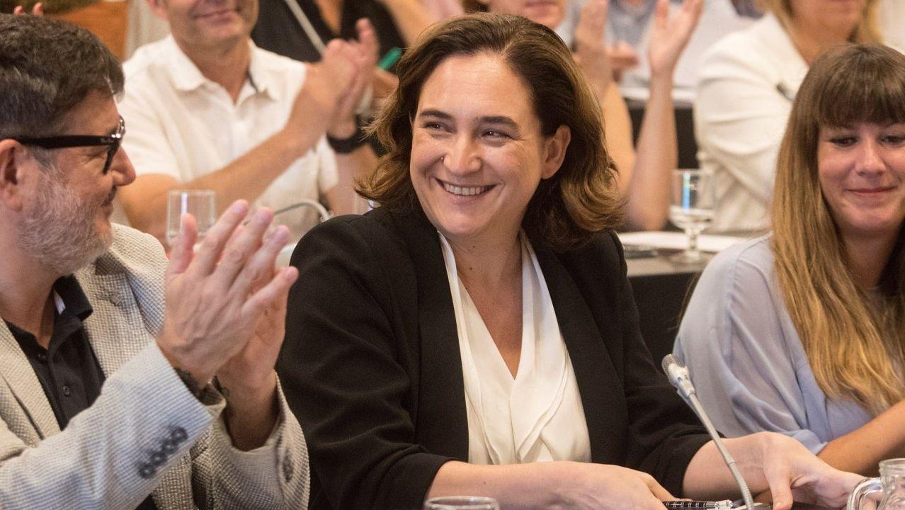 Ada Colau es alcaldesa de Barcelona gracias a Ciudadanos, cuyo apoyo rechazaba en principio