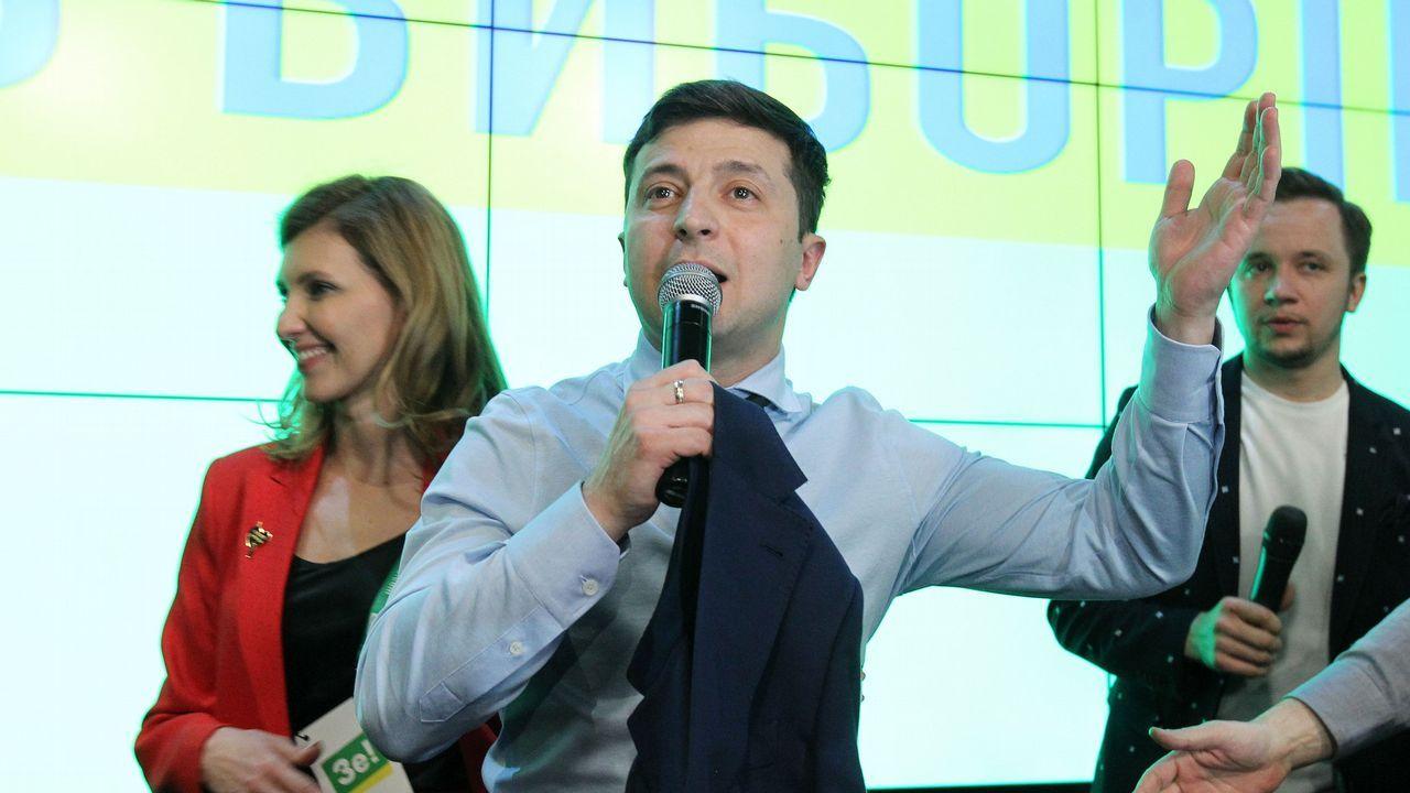 Zelenski se enfrentará a Poroshenko en la segunda vuelta de las presidenciales