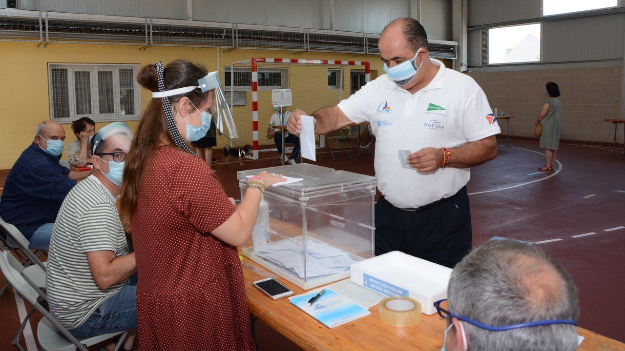 Las votaciones se realizaron siguiendo todos los procolos de seguridad
