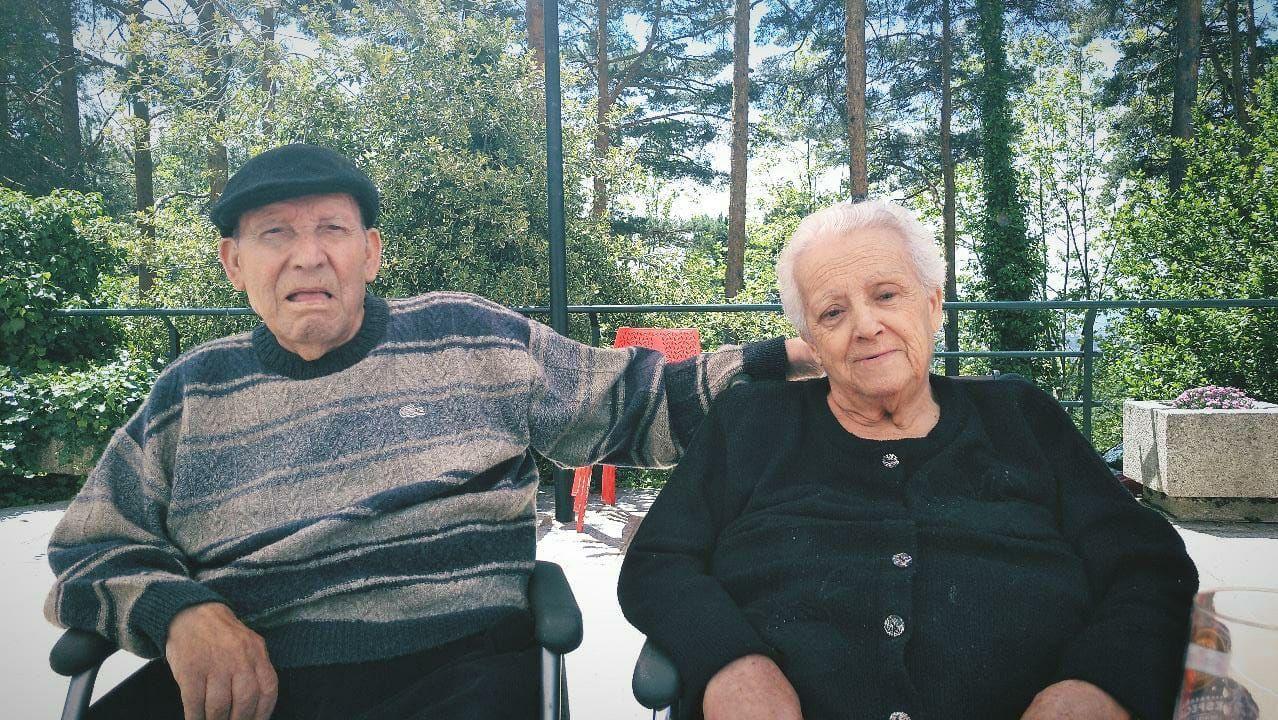 Miguel y Pilar, juntos, unos meses antes de que fueran separados en distintas residencias
