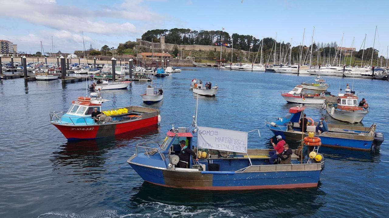 La protesta en Celeiro