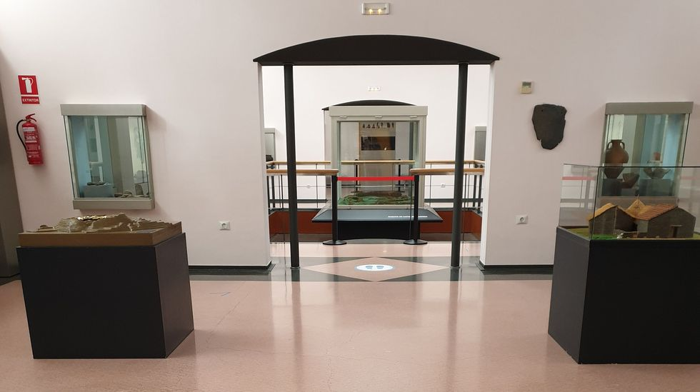 El Museo de Viladonga está abierto, con nuevas medidas de seguridad.