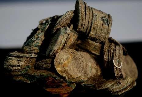Los tesoros que intentó quedarse Odyssey.En el «Mercedes» se rescataron 574.341 monedas de plata, como las de la imagen. <span lang= es-es >paco campo </span><span lang= es-es >efe</span><span lang= es-es > </span>