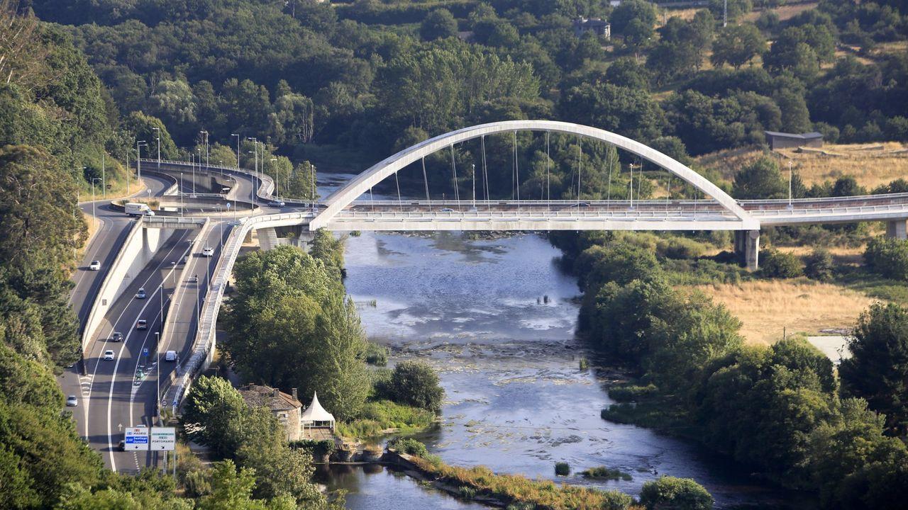 Lugares que visitar de Lugo mientras dure el cierre perimetral.Río Rato a su paso por Paradai, que será ampliado su cauce para evitar inundaciones