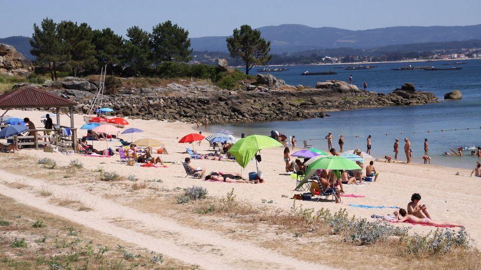 Playa de Retorta, en Boiro.Playa de Retorta, en Boiro