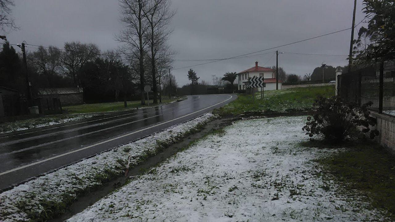 Nieve en Oza-Cesuras.Nieve en Betanzos