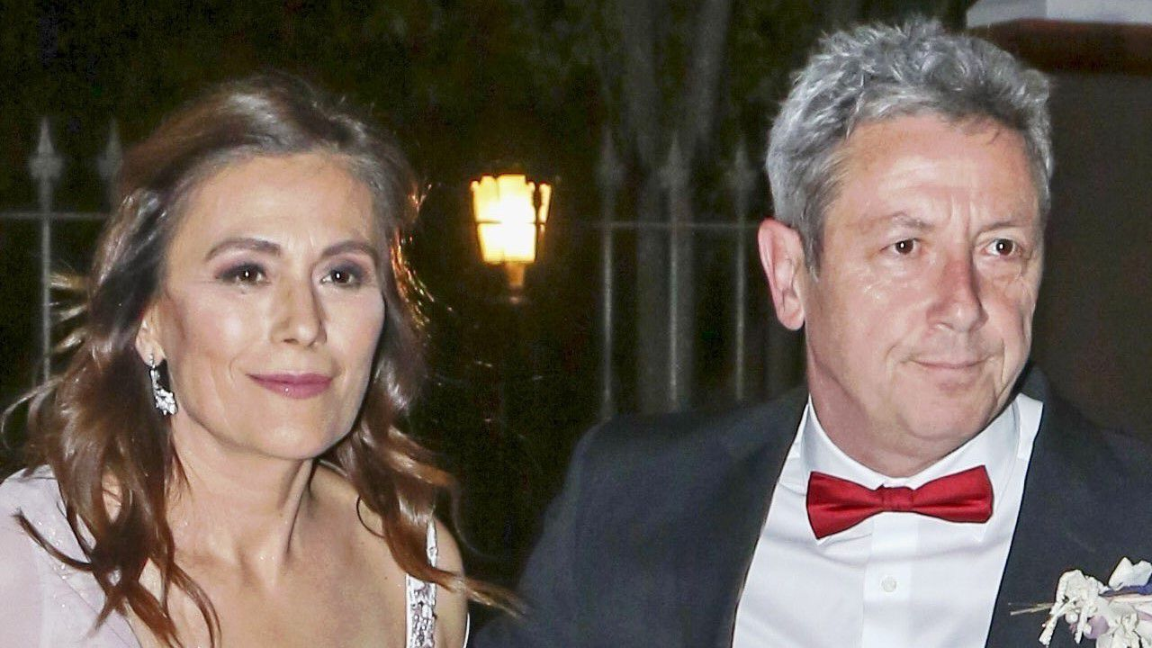 Alonso Guerrero y su esposa, María Dolores Corral