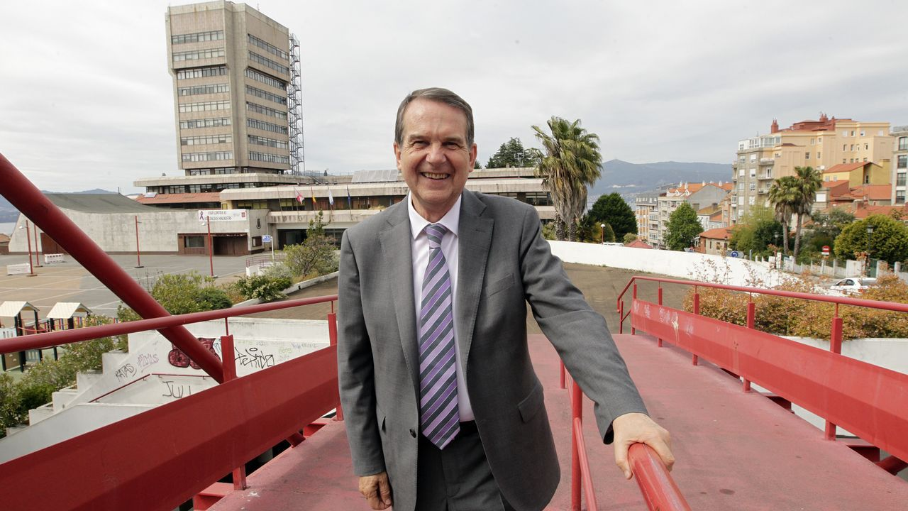 Entrevista a Abel Caballero.Celebración de Caballero en Vigo