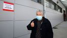 Teresa Otero, de 91 años, se vacunó este viernes en Boiro después de haber superado varias enfermedades durante su vida