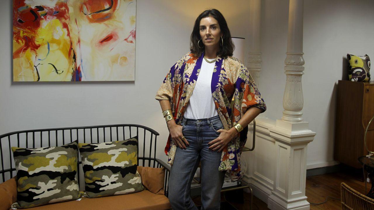 Cristina Pedroche desfila para Women Secret.La actriz española Elsa Pataky.