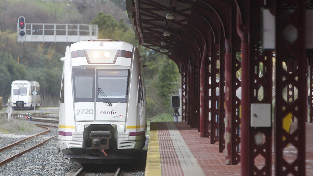Ferreiro y Mato.Tramo construido y tramo pendiente de construcción del túnel del Metrotrén hasta Cabueñes