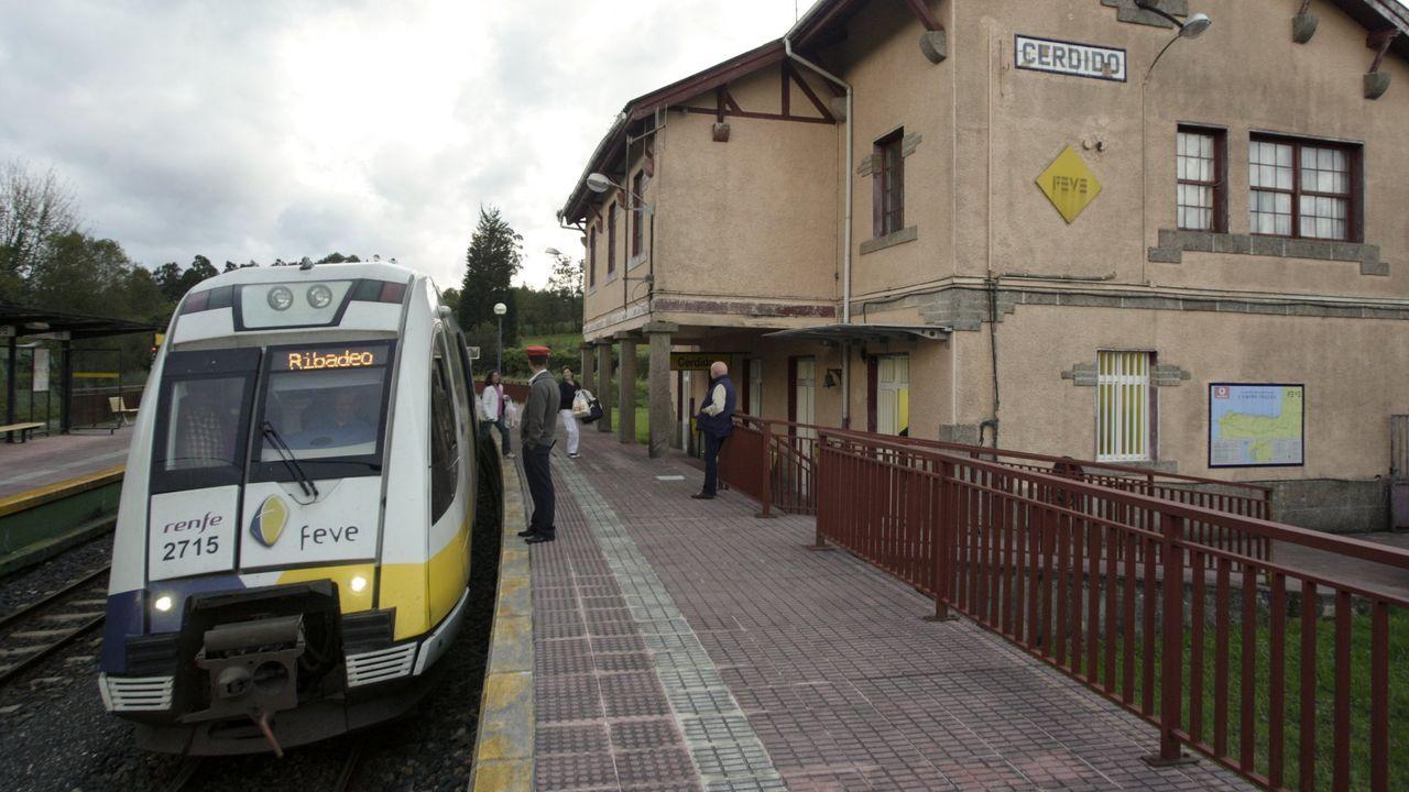 Situación en los puertos de montaña entre Asturias y León.Soterramiento del ferrocarril en Sama de Langreo