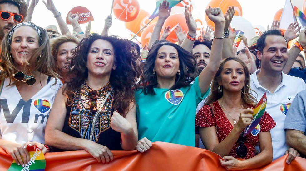 Ciudadanos pide la dimisión de Marlaska por ponerles «en la diana».Albert Rivera compareció muy irritado ante los medios en el Congreso de los Diputados