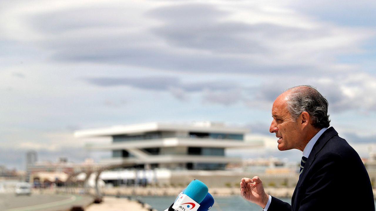 Francisco Camps se defendió de las acusaciones y aseguró que la causa es «puramente política»