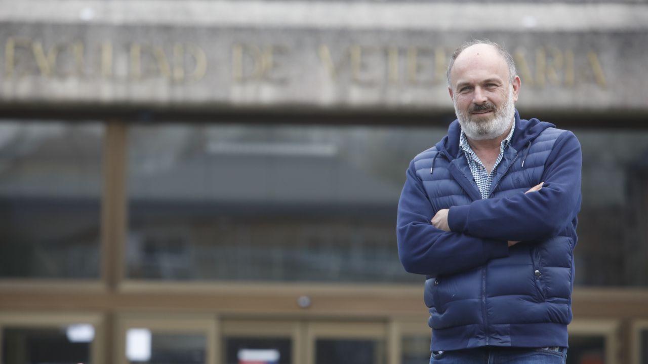 Fernández subliña o valor da investigación que se realiza na Facultade de Veterinaria