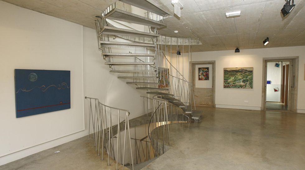 Escalera de caracol del museo