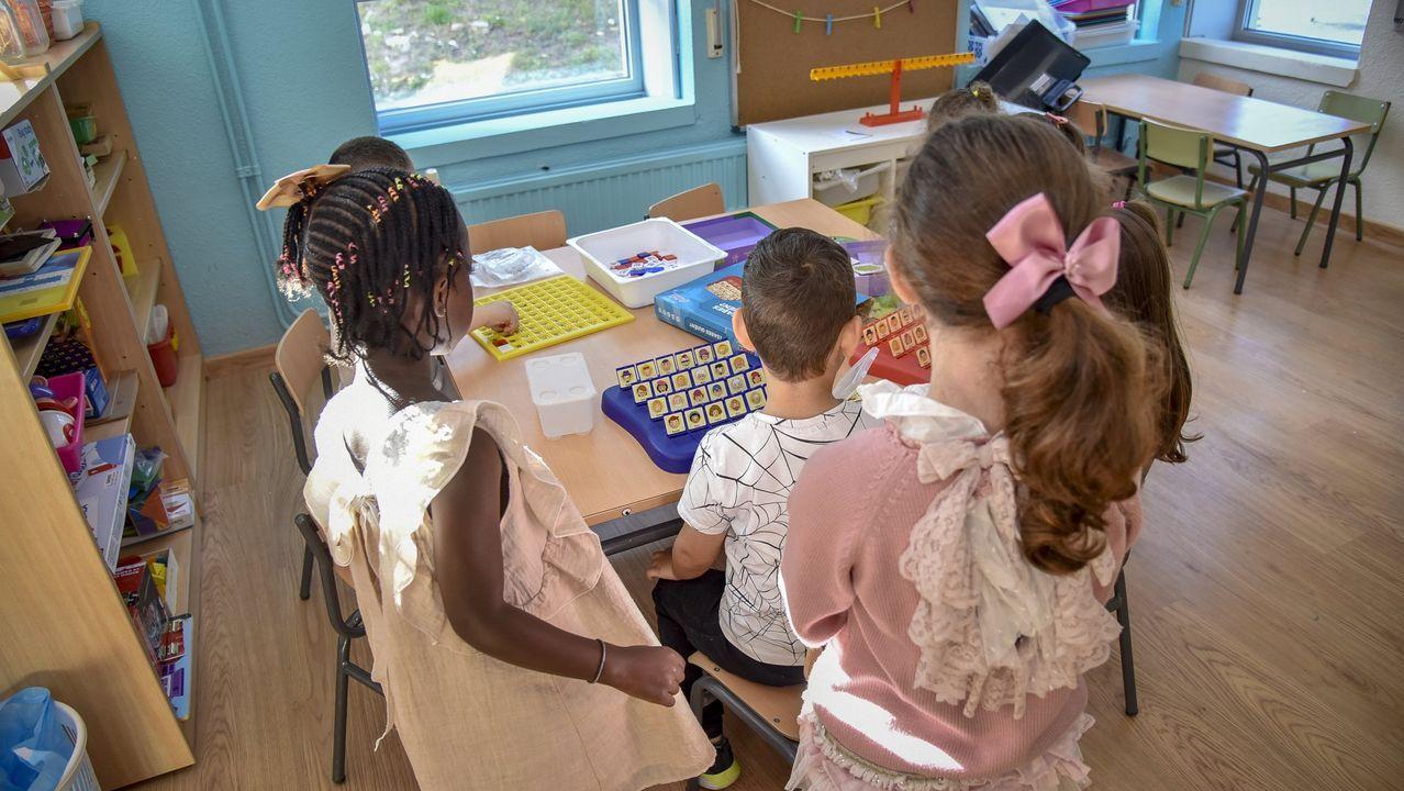 Imagen de archivo de un aula de educación infantil