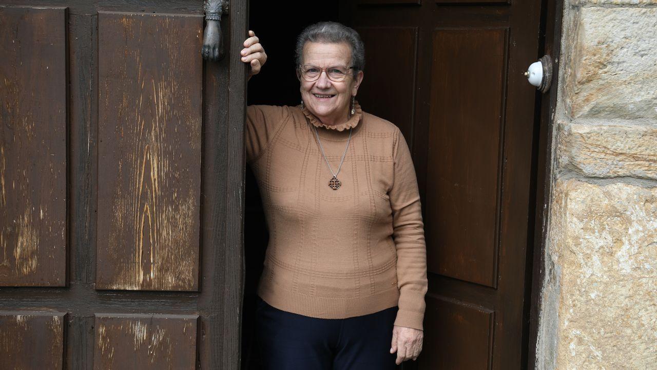 Visita del presidente de la Diputación a la residencia de Castroverde el pasado día 22, ya terminada pero aún sin usuarios