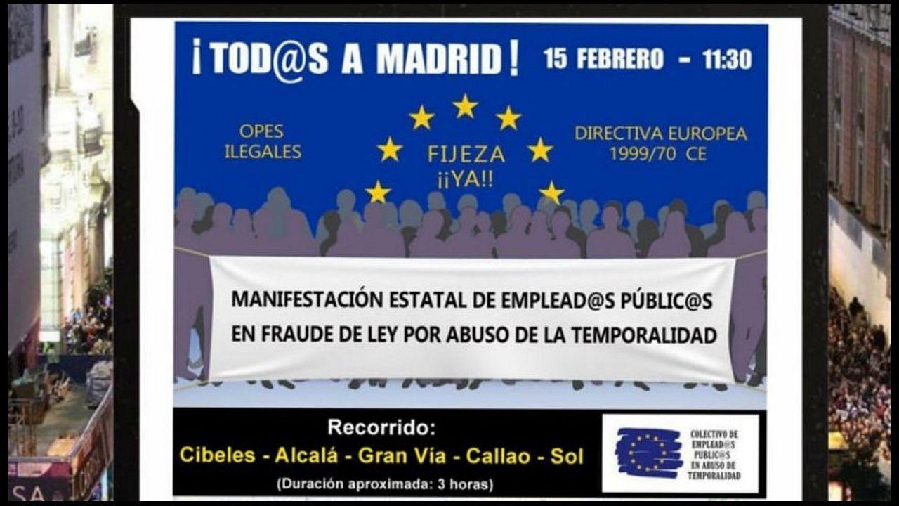 La diputada del PP Beatriz Polledo intervierne en el pleno de la Junta General