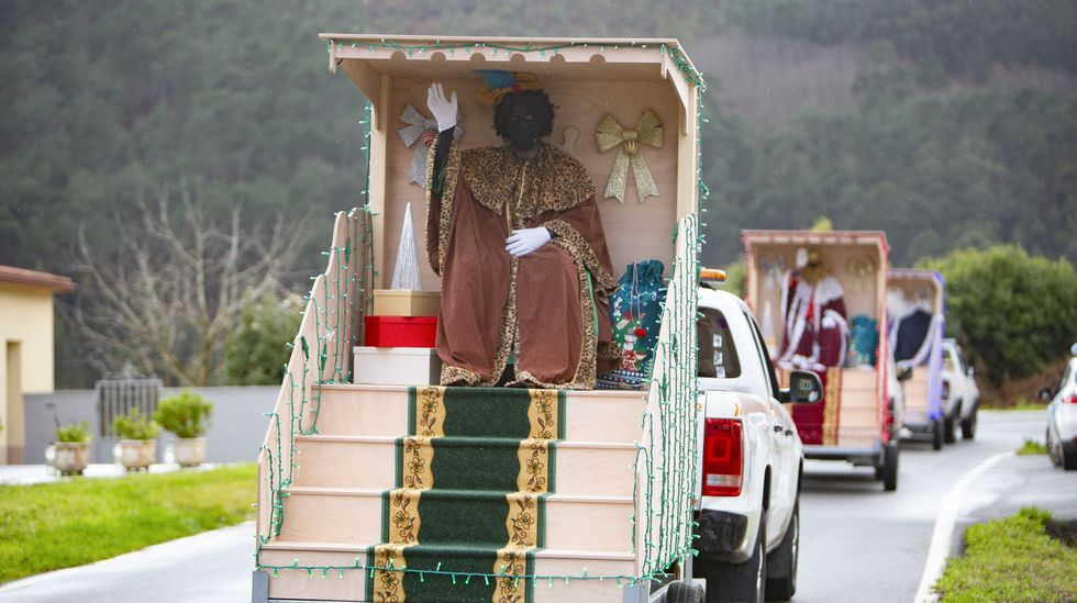 Los Reyes, a su paso por Laxe