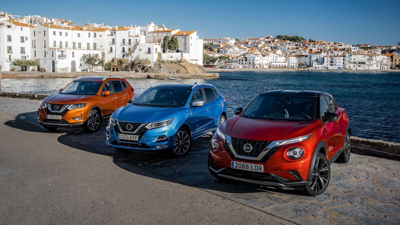 Las imágenes del primer día laboral con el estado de alarma en Galicia.Nuevo Nissan 370Z 50ht Anniversary