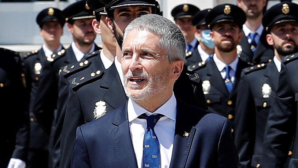 El destartalado interior del narcosubmarino. La presidenta del grupo parlamentario de Adelante Andalucía, Teresa Rodríguez
