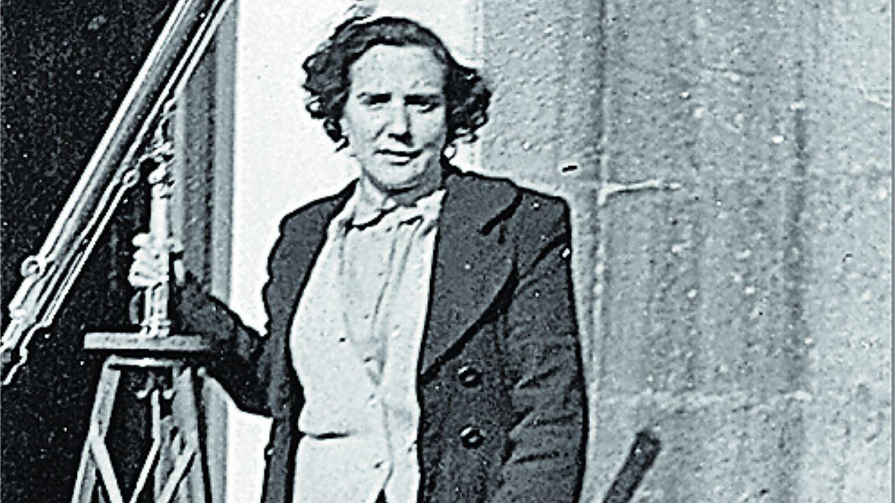 Antonia Ferrín es la autora de la primera tesis de Astronomía de España, que dirigió Ramón María Aller