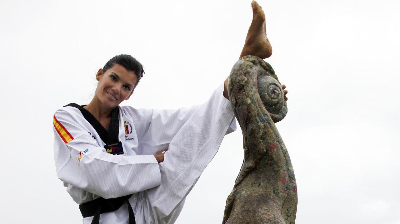 Rebeca Mariño, taekuondo