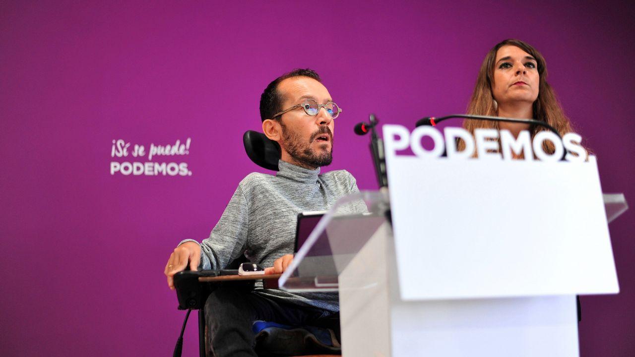 Luís Villares defiende la suspensión cautelar de las primarias.Errejón es un ferviente defensor del régimen de Maduro