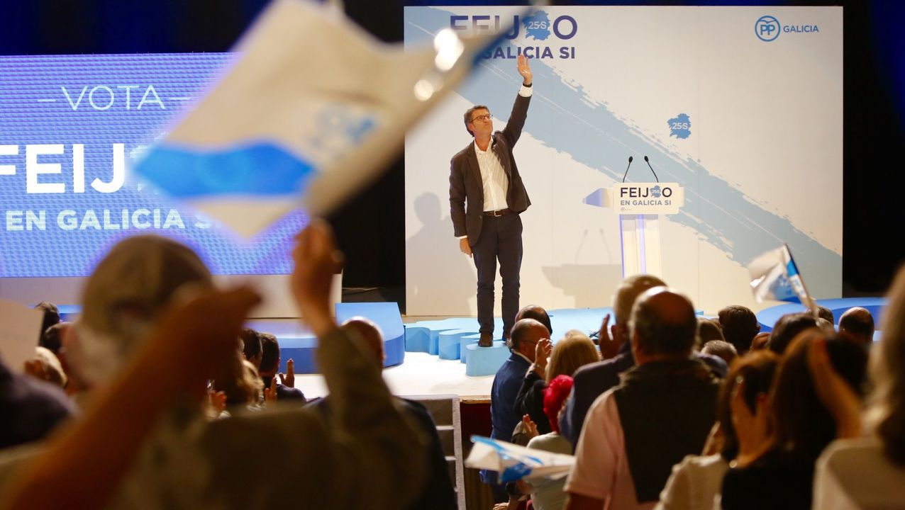 Espinosa de los Monteros reconoce la financiación de Vox en 2014 por medio del exilio persa.Acto del PPdeG en Vigo para la campaña electoral del 2016
