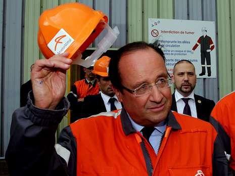 Hollande no tuvo la acogida que esperaba.