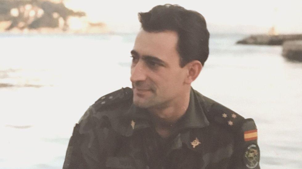 El comandante Antonio Novo, fallecido en el accidente del Yak-42
