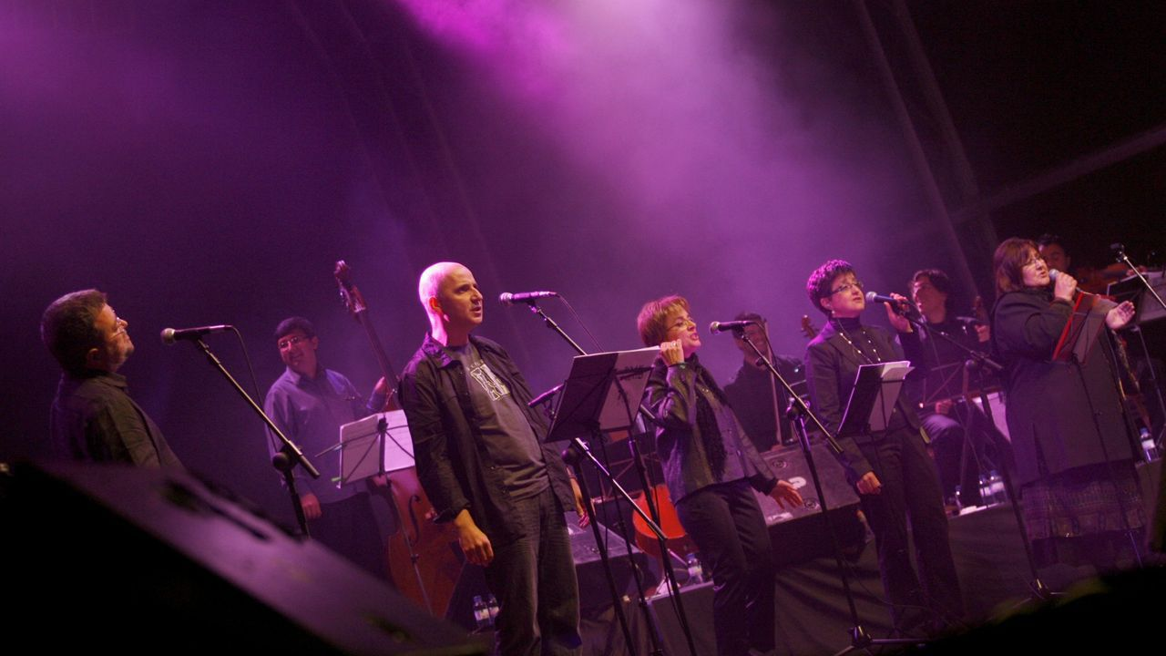 Concerto de Fuxan os ventos no San Froilán do 2009