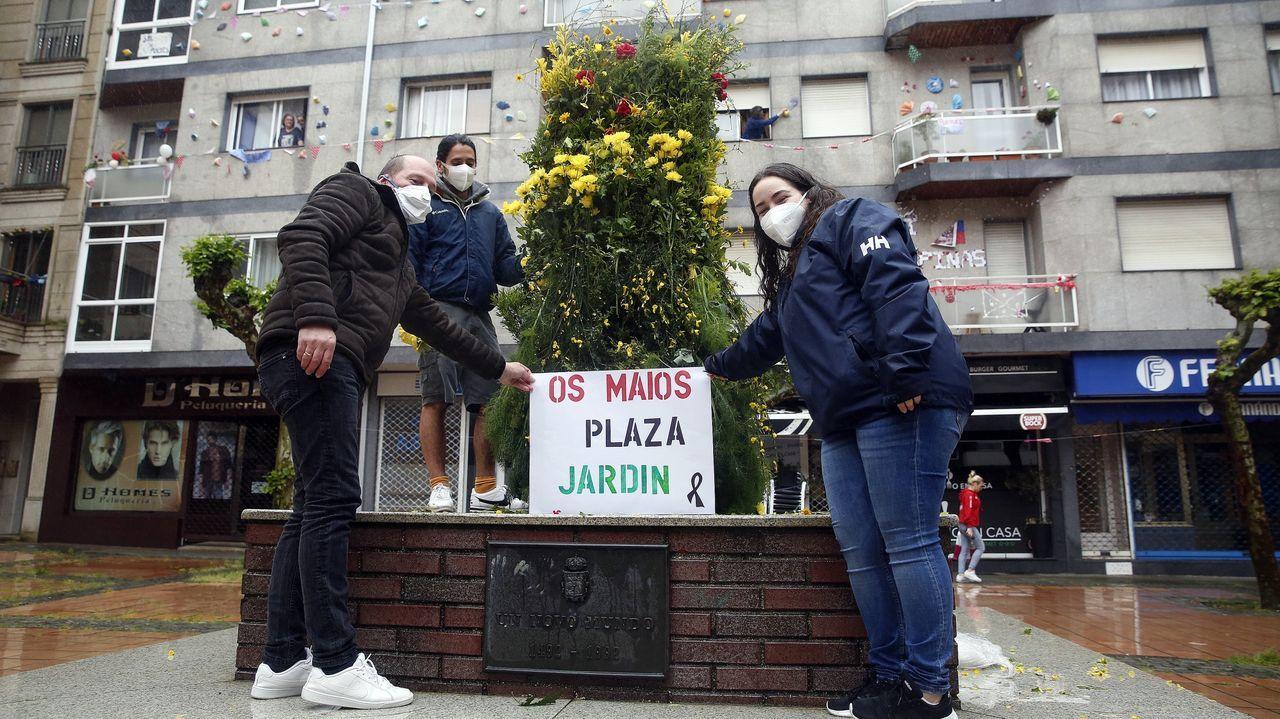 Celebración do 1º de Maio en Arousa.1.600 personas con edades comprendidas entre los 40 y los 49 años han sido convocadas al cribado de Cambados