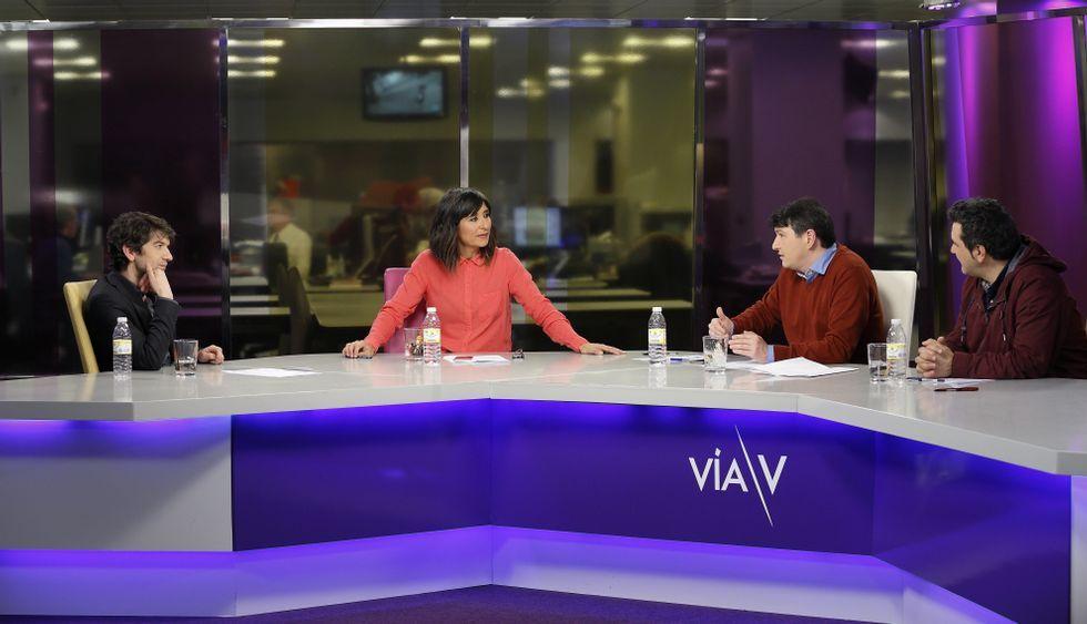 Ellos también superaron la selectividad.El regidor fue entrevistado anoche por Fernanda Tabarés, Andrés Vellón y Domingos Sampedro.