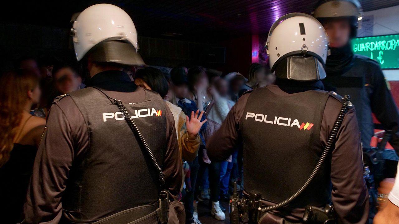 Redada en la zona de ocio del Oviedo nocturno.Palacio de Justicia de Gijón