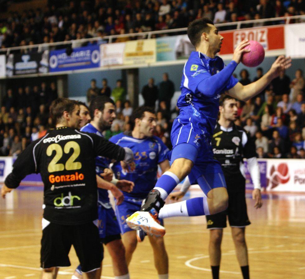 Chapela en el duelo ante el Valladolid el pasado sábado.
