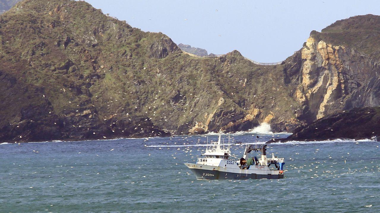 El Pino Ladra, entrando en Celeiro, en una imagen de archivo