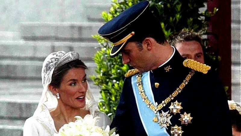 Felipe y Letizia, quince años de matrimonio, en fotos
