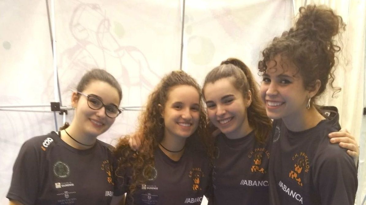 Pablo González, Damián Benigno, Susana Pravia y Álex Mañanito Galán