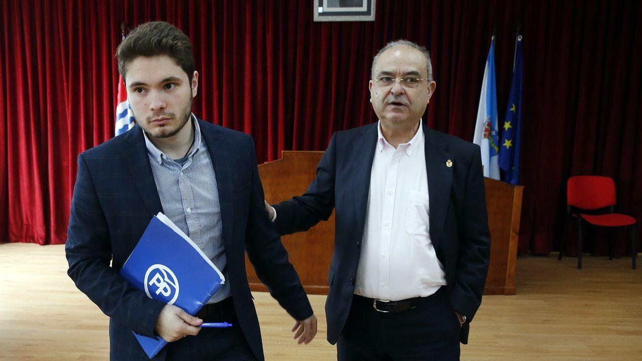 Caballero critica la visión «de país de las maravillas» que da Feijoo de Galicia.Gonzalo Caballero, este viernes en Buenos Aires