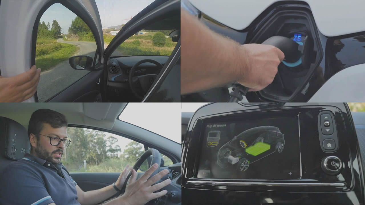 Al volante de un eléctrico por primera vez