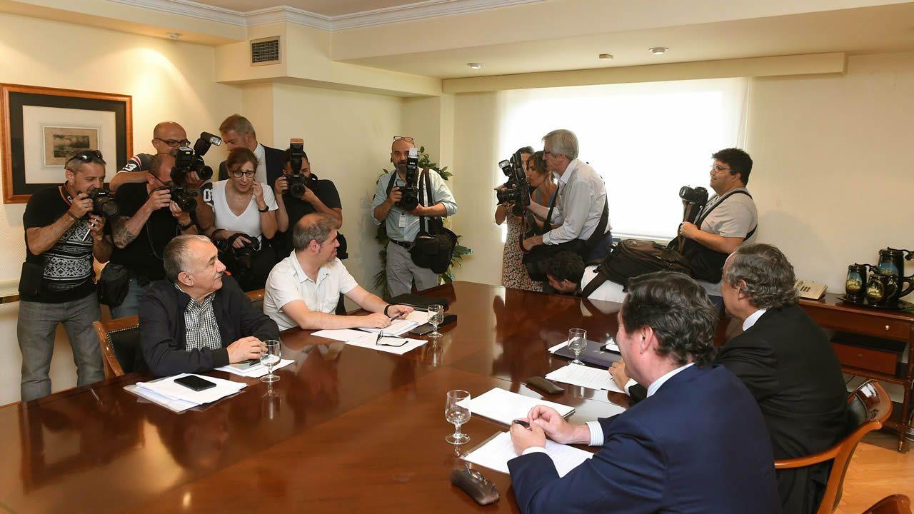 Sindicatos y CEOE.Garamendi fue elegido este miércoles presidente de la CEOE por aclamación