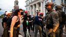 Manifestación en Denver tras la muerte del afroamericano George Floyd