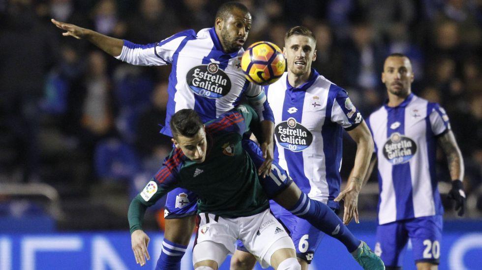 Las mejores fotos del Osasuna-Deportivo