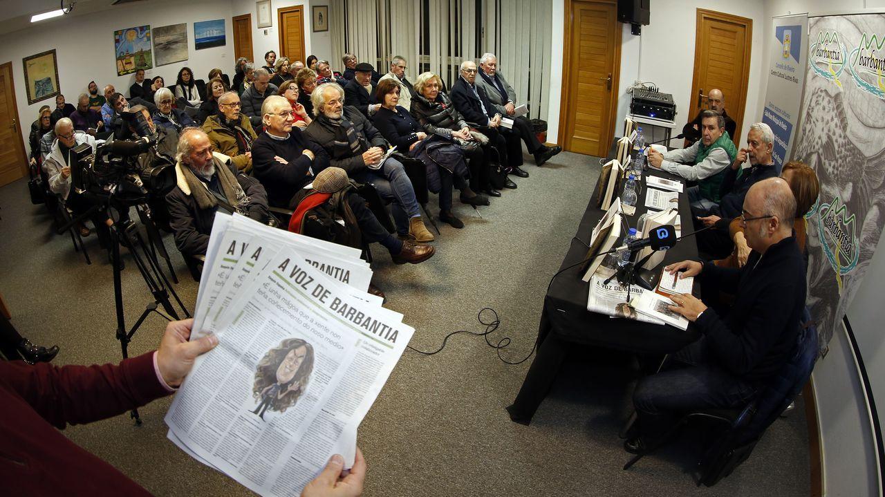 ¡Así fue la presentación del libro de Fidel Vidal organizada por Barbantia!