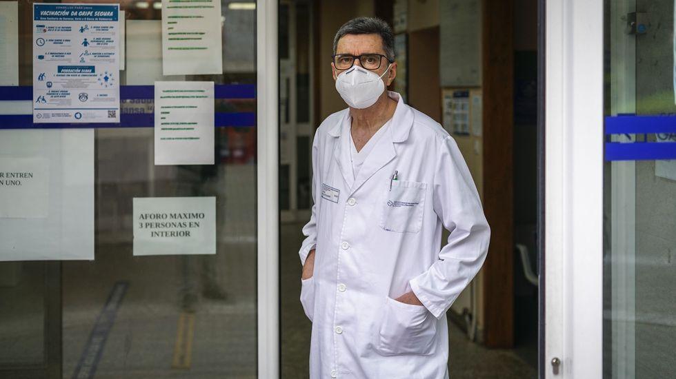 José Luis Álvarez-López Muíño es el coordinador del centro de salud de A Cuña-Mariñamansa