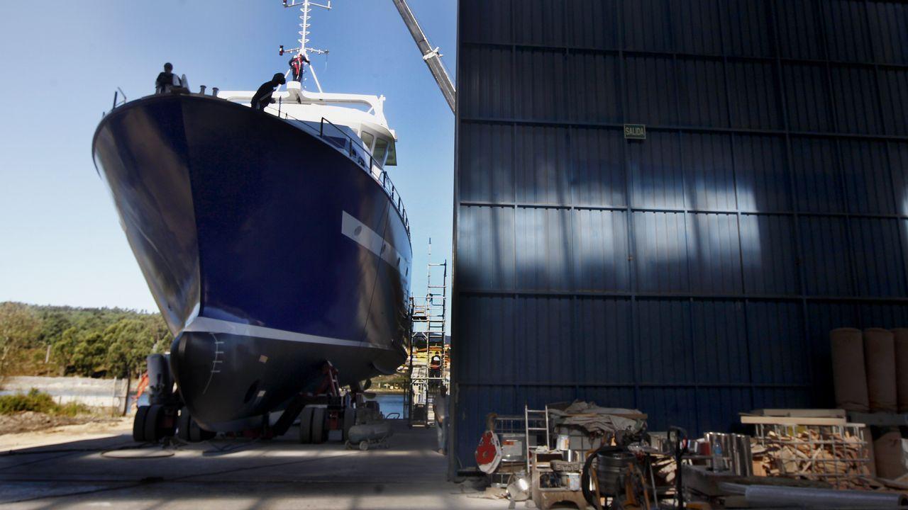 Construcción de un atunero en tierra vikinga.Fotograma de 'El futuro que viene', película de apertura del FICX55