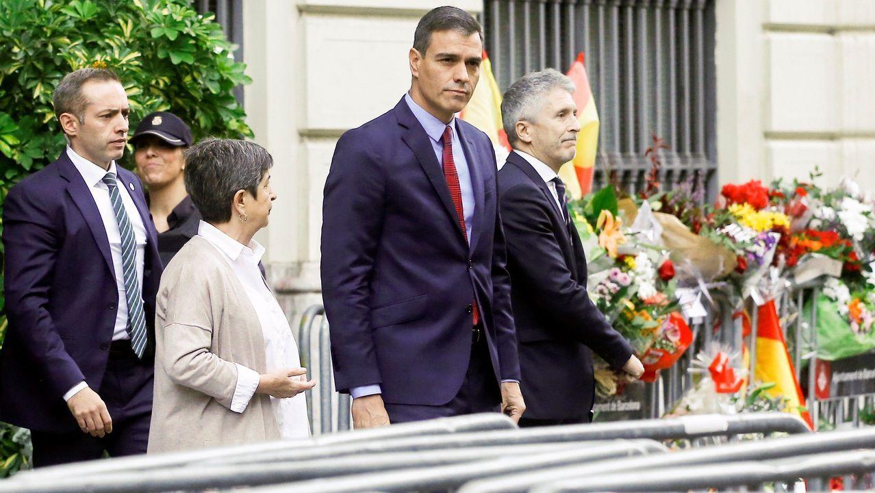 Pablo Iglesias, Pedro Sánchez, Albert Rivera, Pablo Casado y Santiago Abascal